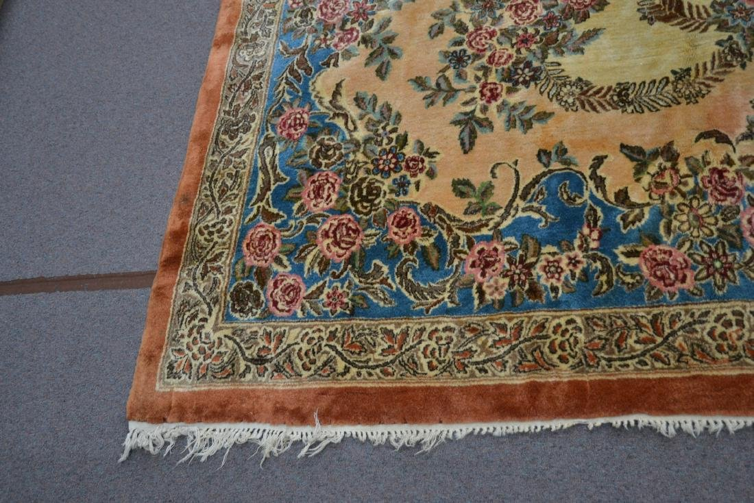 """11' 11"""" x 17' KERMAN RUG WITH FLORAL DECORATIONS - 2"""