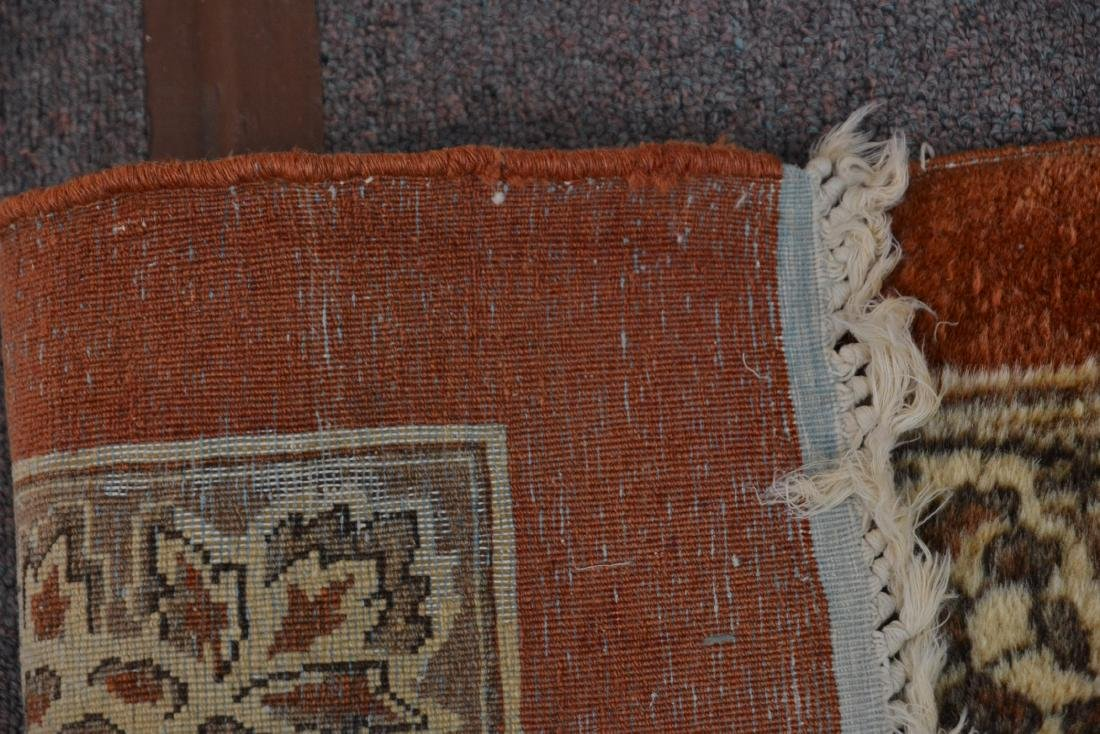 """11' 11"""" x 17' KERMAN RUG WITH FLORAL DECORATIONS - 9"""