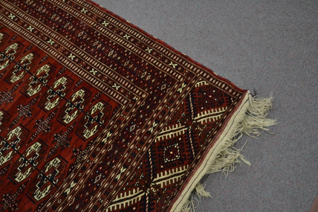 "6' 11"" x 11' RED PERSIAN BOKHARA RUG - 4"