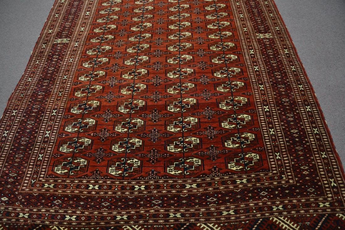 "6' 11"" x 11' RED PERSIAN BOKHARA RUG - 5"