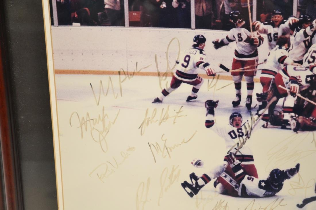 "1980 USA OLYMPIC GOLD MEDAL TEAM ""MIRACLE ON ICE"" - 3"