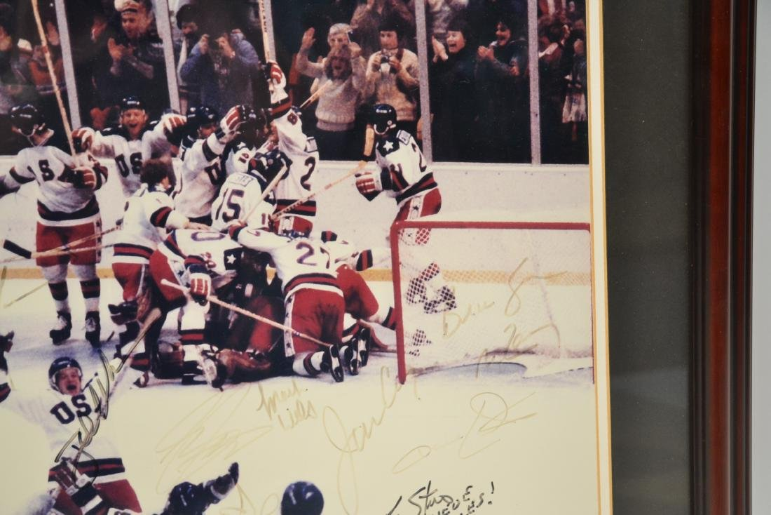 "1980 USA OLYMPIC GOLD MEDAL TEAM ""MIRACLE ON ICE"" - 4"