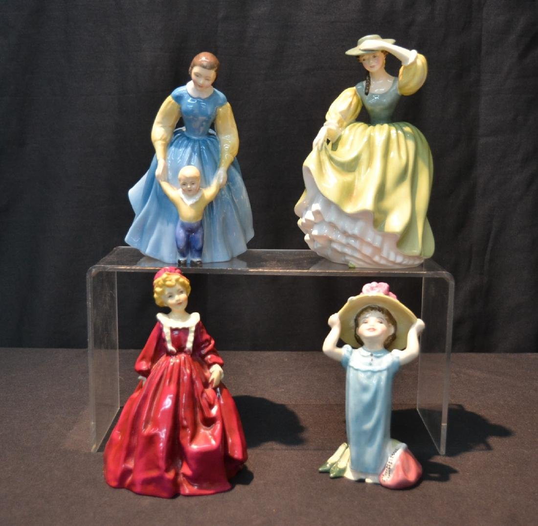 (3) ROYAL DOULTON FIGURINES TO INCLUDE