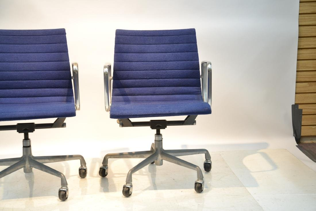 (Pr) EAMES FOR HERMAN MILLER ALUMINUM GROUP CHAIRS - 2