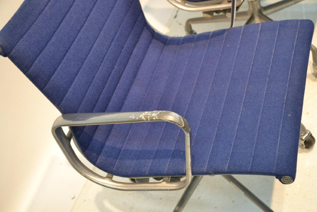 (Pr) EAMES FOR HERMAN MILLER ALUMINUM GROUP CHAIRS - 4