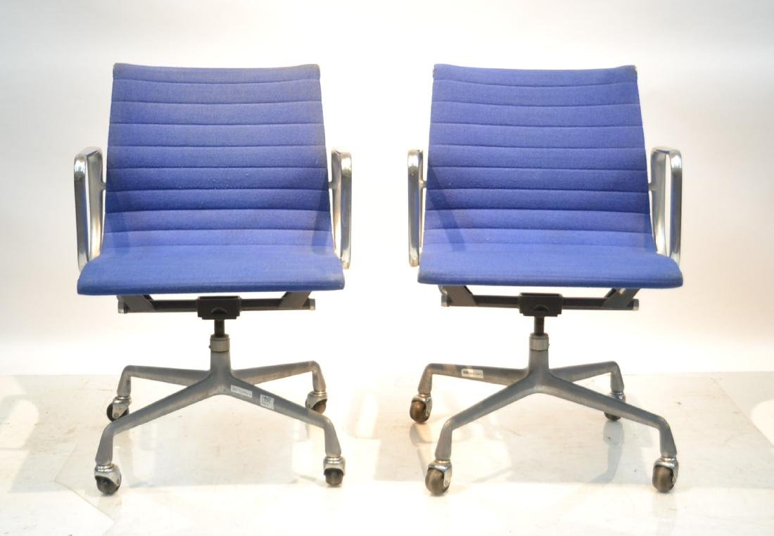 (Pr) EAMES FOR HERMAN MILLER ALUMINUM GROUP CHAIRS