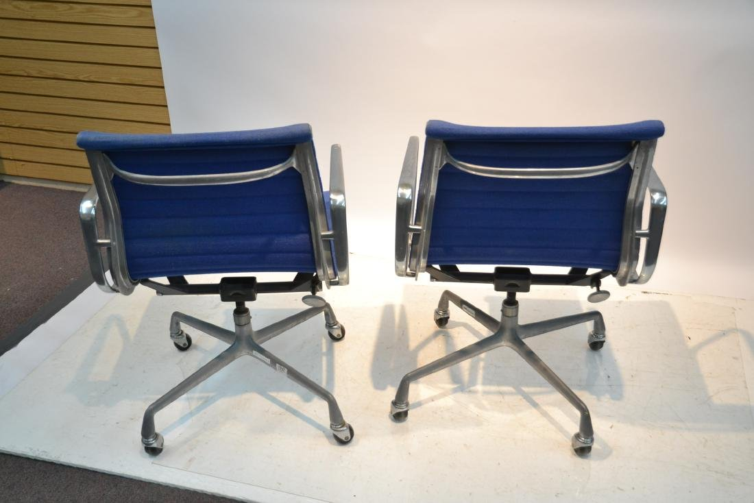 (Pr) EAMES FOR HERMAN MILLER ALUMINUM GROUP CHAIRS - 7