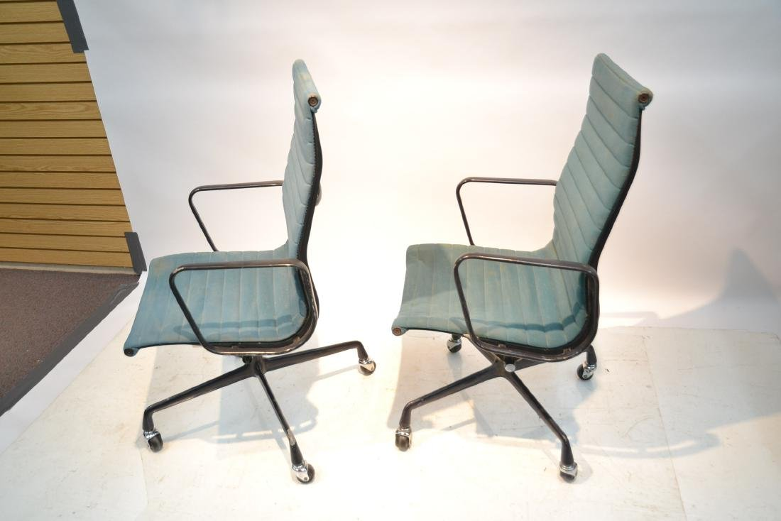 (Pr) EAMES FOR HERMAN MILLER ALUMINUM GROUP CHAIRS - 5