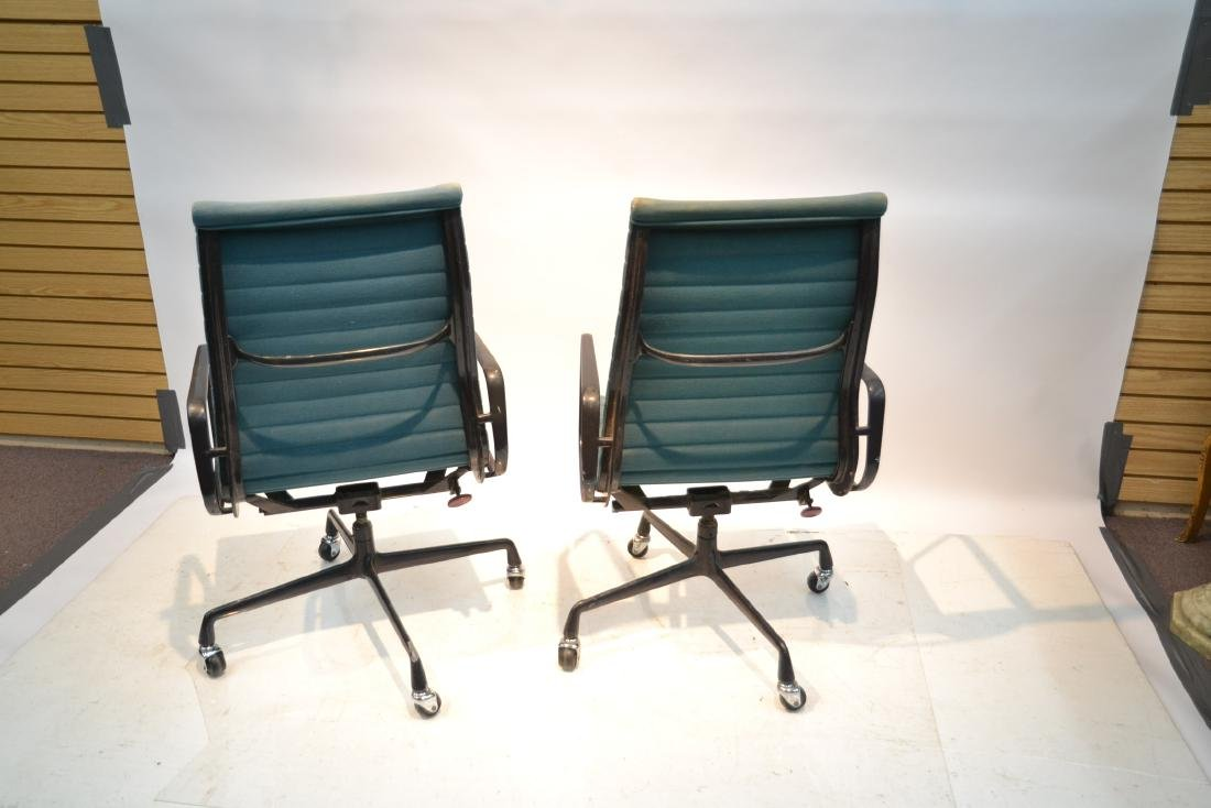 (Pr) EAMES FOR HERMAN MILLER ALUMINUM GROUP CHAIRS - 6