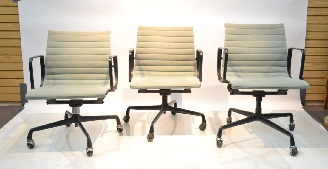 (3) EAMES FOR HERMAN MILLER ALUMINUM GROUP CHAIRS