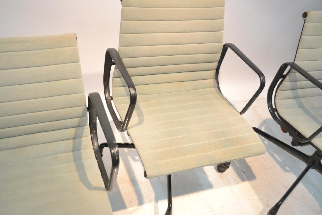 (3) EAMES FOR HERMAN MILLER ALUMINUM GROUP CHAIRS - 6