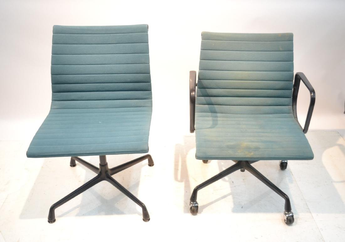 (2) EAMES FOR HERMAN MILLER ALUMINUM GROUP CHAIRS
