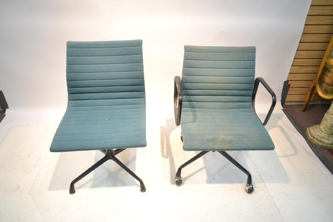 (2) EAMES FOR HERMAN MILLER ALUMINUM GROUP CHAIRS - 5