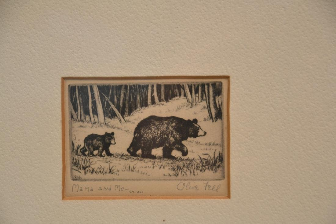 (2) OLIVE FELL (AMERICAN, 1896-1980) ETCHINGS - 4