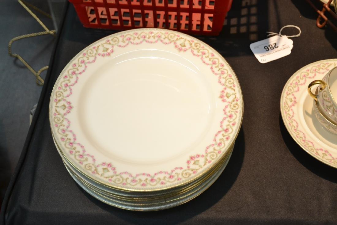 ELITE LIMOGES DINNER SET CONSISTING OF - 12