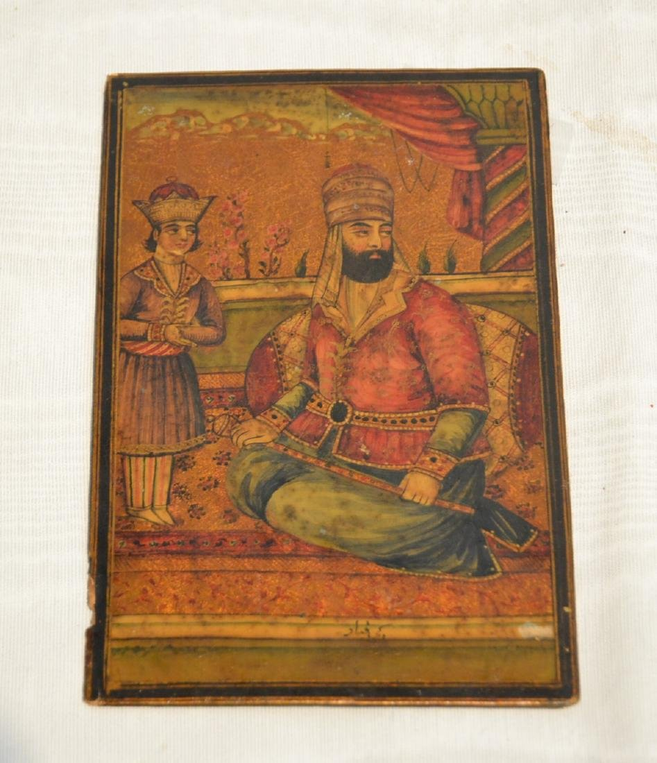 "PERSIAN PAINTING MINIATURE - 4 1/2"" x 7"""