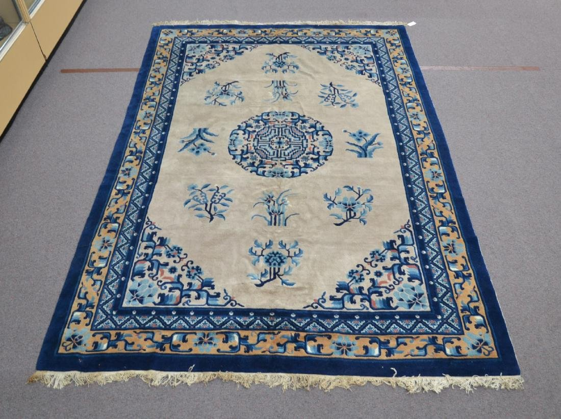 """CHINESE DECO RUG - 6' 7"""" x 9' 6"""""""