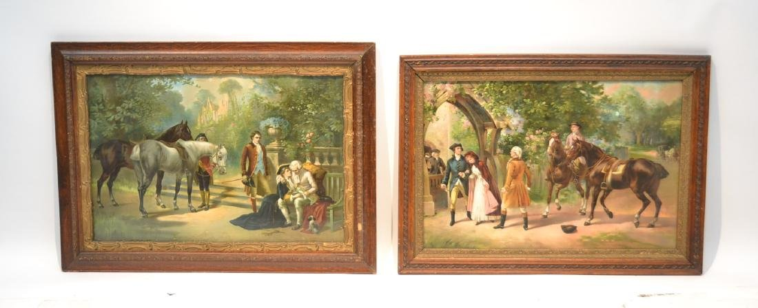 (Pr) VICTORIAN COLOR LITHOGRAPHS WITH