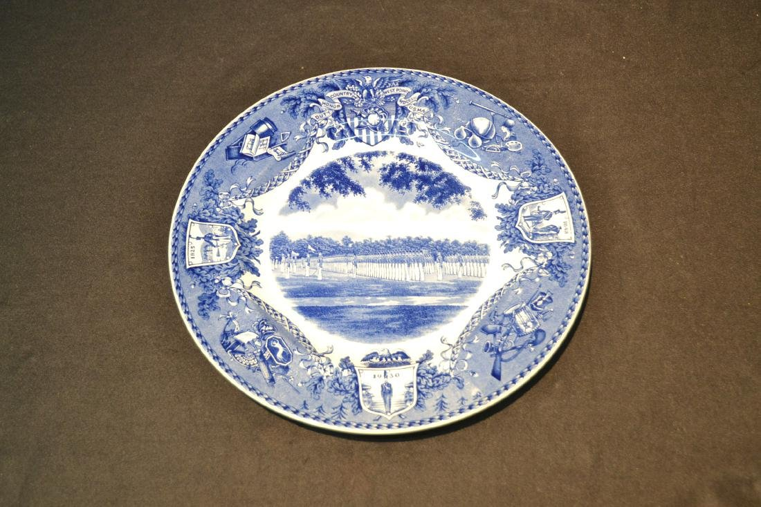 WEDGWOOD WEST POINT DRESS PARADE PLATE ; 1933 - 2