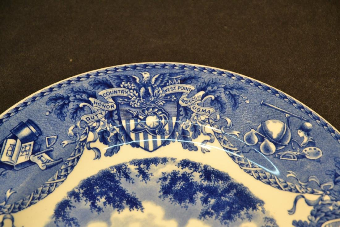 WEDGWOOD WEST POINT DRESS PARADE PLATE ; 1933 - 3