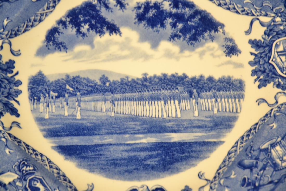 WEDGWOOD WEST POINT DRESS PARADE PLATE ; 1933 - 5