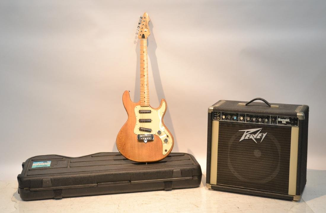 VINTAGE PEAVEY 1980s T-30 SOLID WOOD BODY