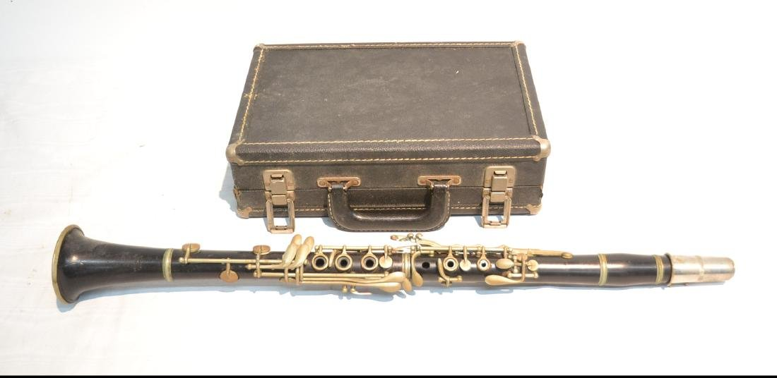 KOHLERT MODEL 10 CLARINET ; IN PRESENTATION CASE