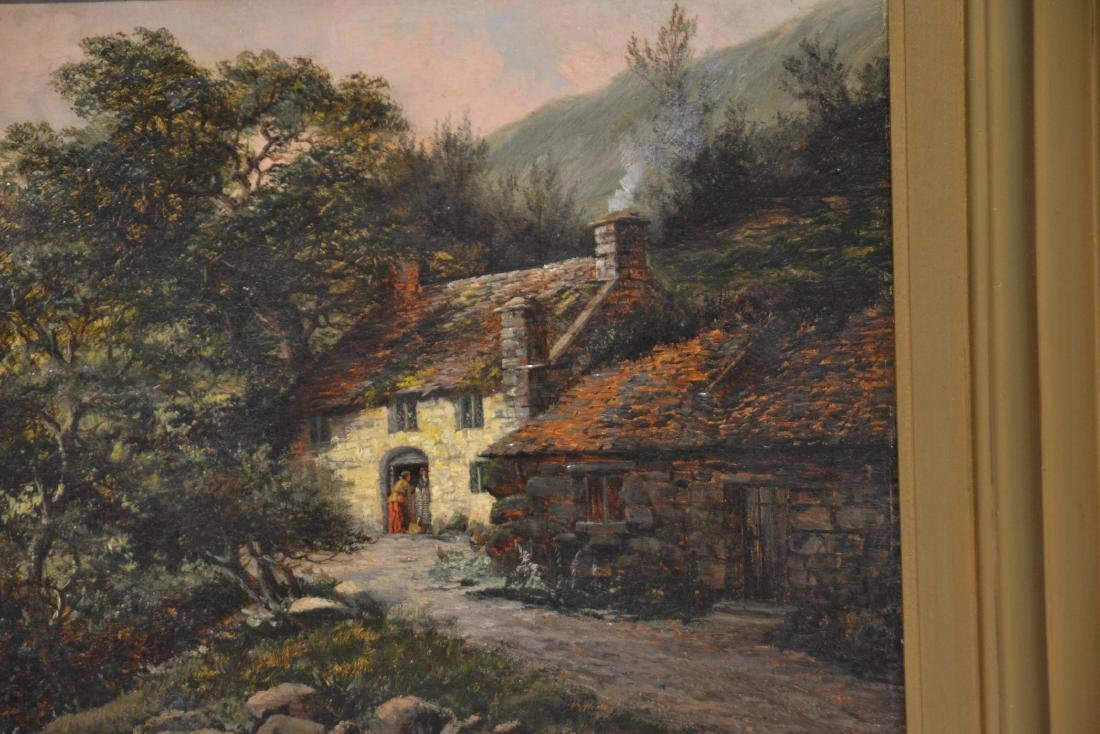 ARTHUR H. DAVIS (BRITISH, 19thC) OIL ON CANVAS - 4