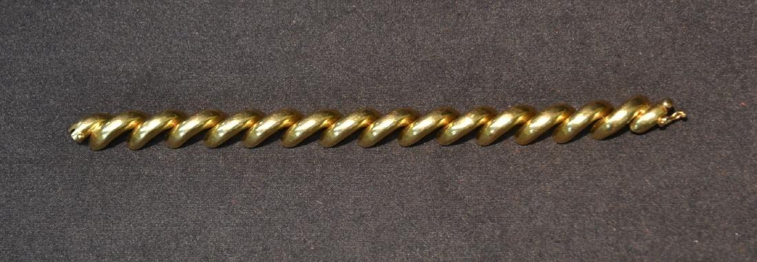 14kt GOLD ITALY BRACELET