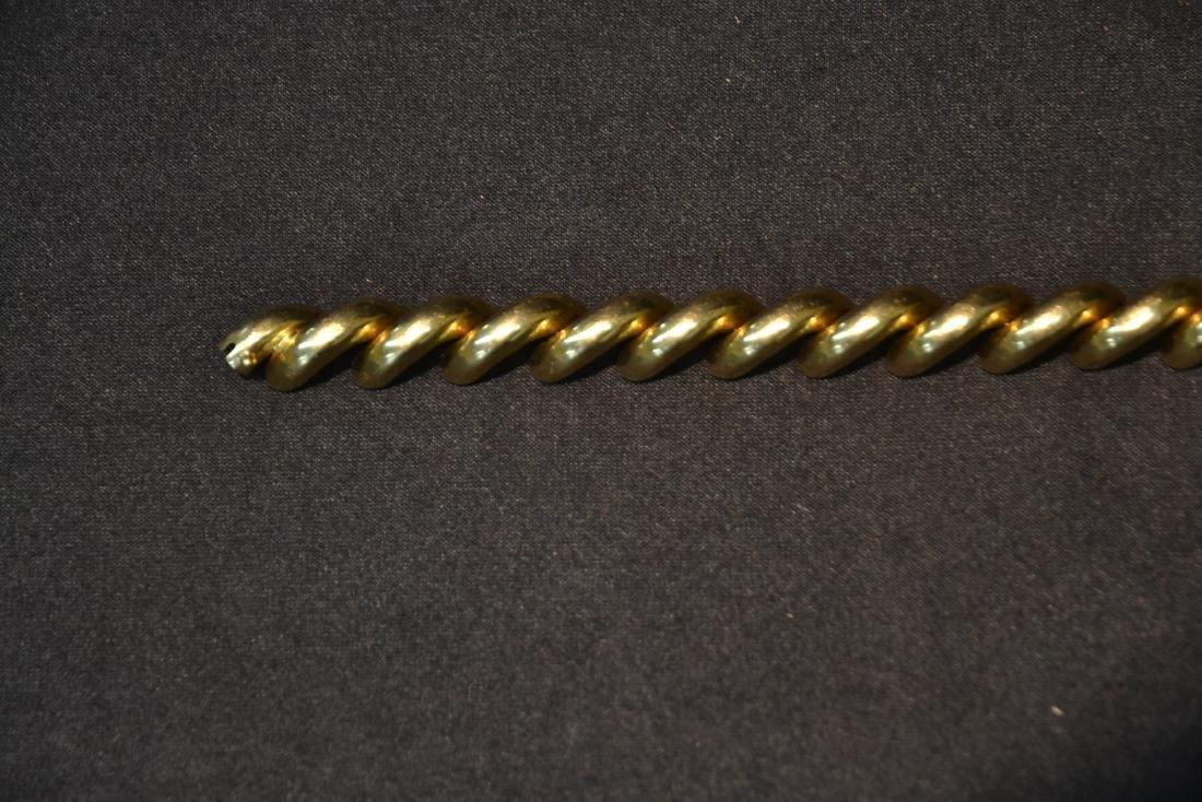 14kt GOLD ITALY BRACELET - 3