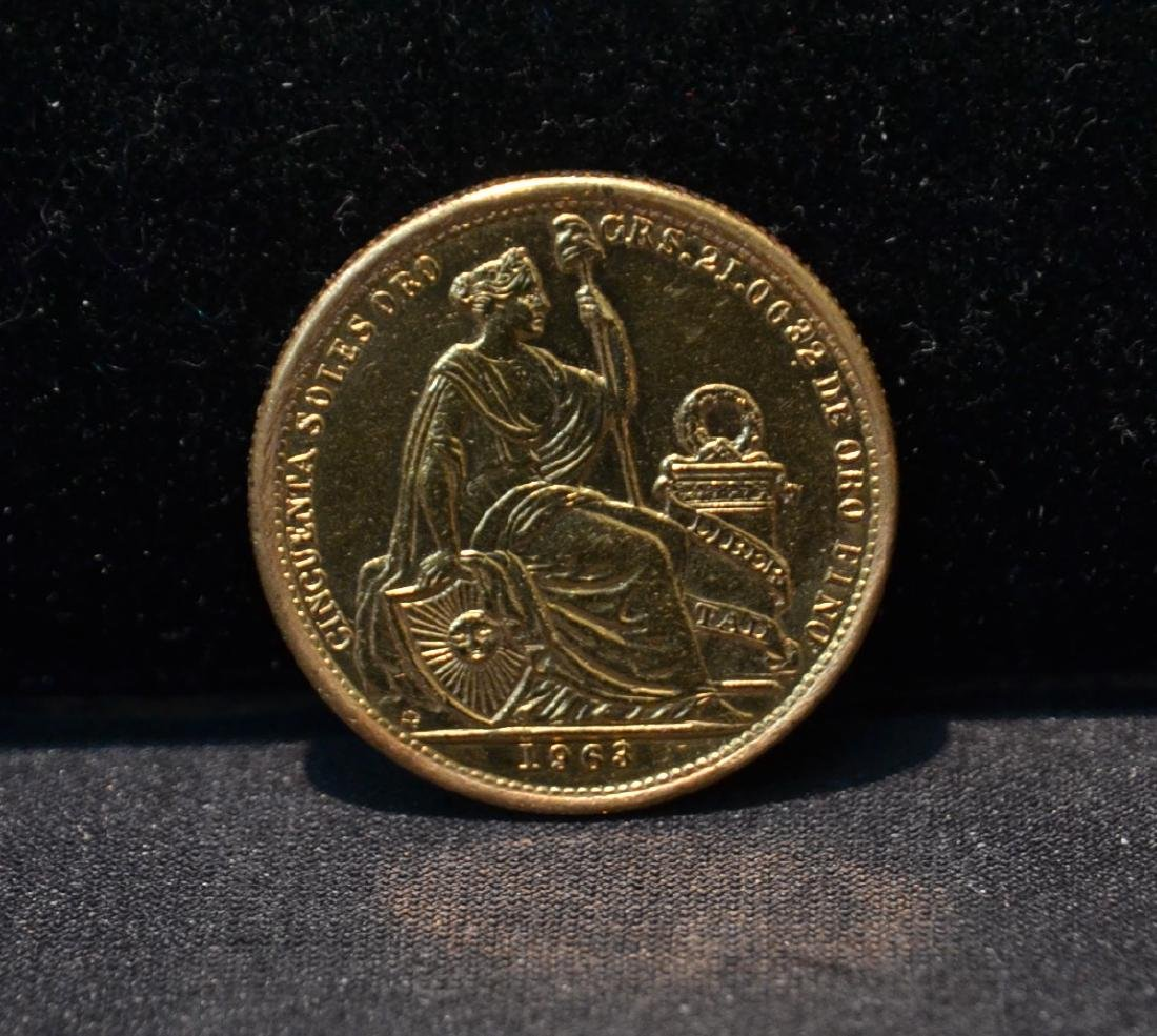 1963 GOLD COIN - 23.3grams