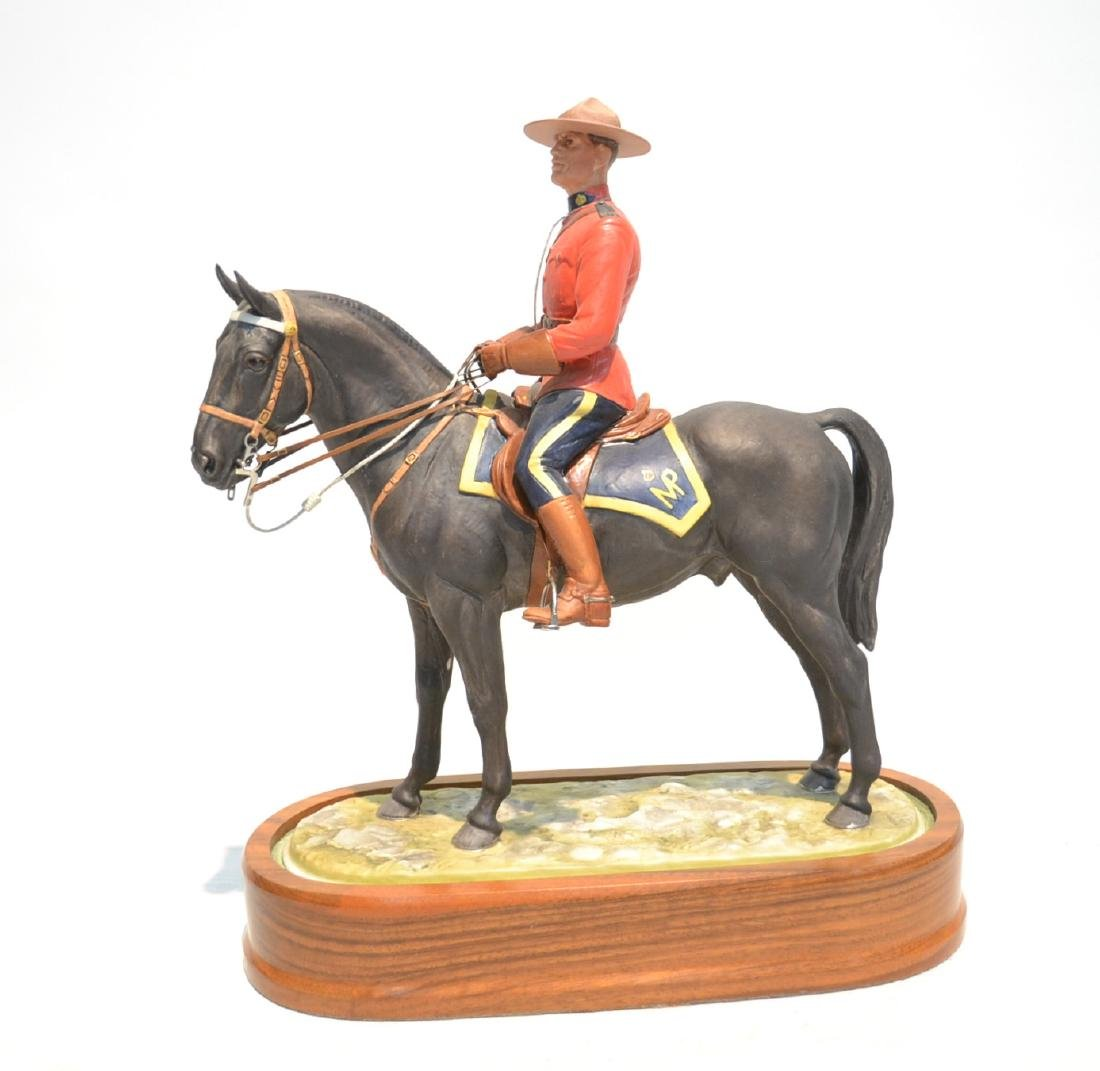 "ROYAL WORCESTER ""ROYAL CANADIAN MOUNTED"