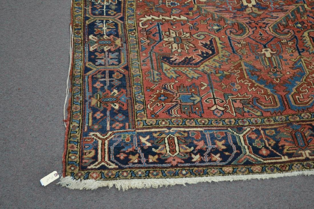 "ANTIQUE HERIZ RUG - 7' 3"" x 10' 3"" - 4"