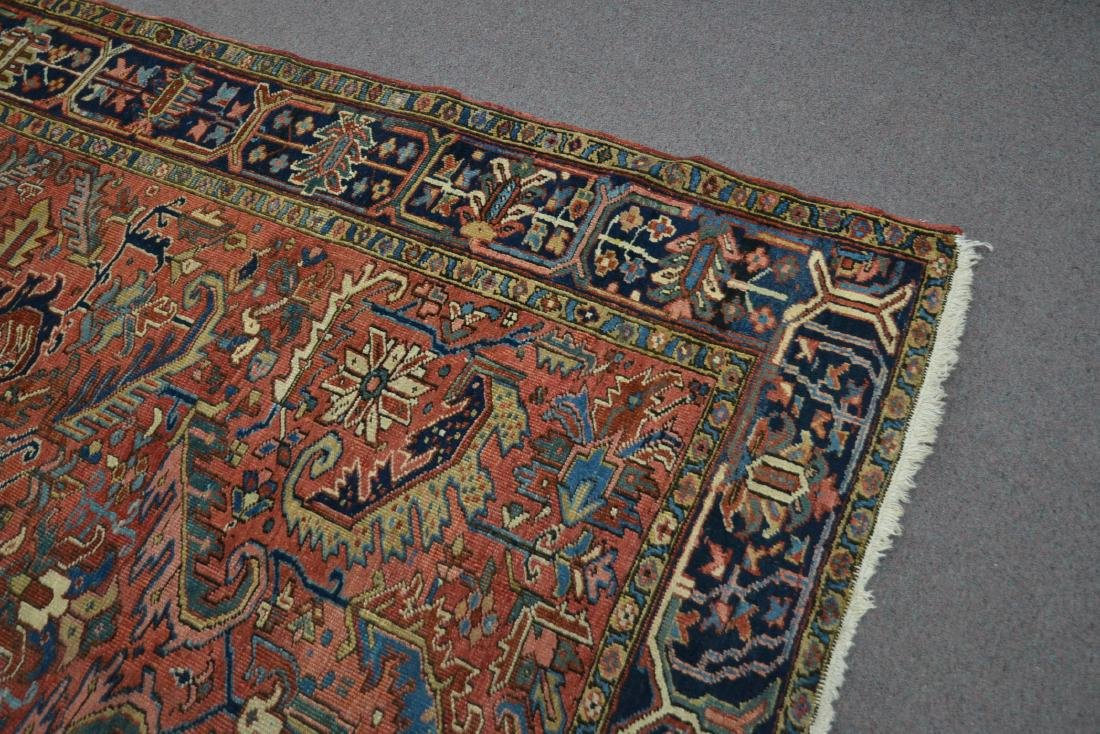 "ANTIQUE HERIZ RUG - 7' 3"" x 10' 3"" - 5"