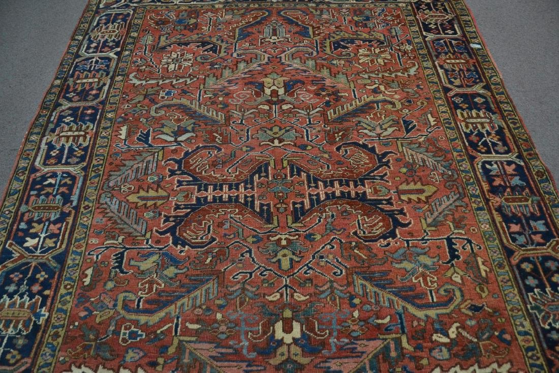 "ANTIQUE HERIZ RUG - 7' 3"" x 10' 3"" - 6"