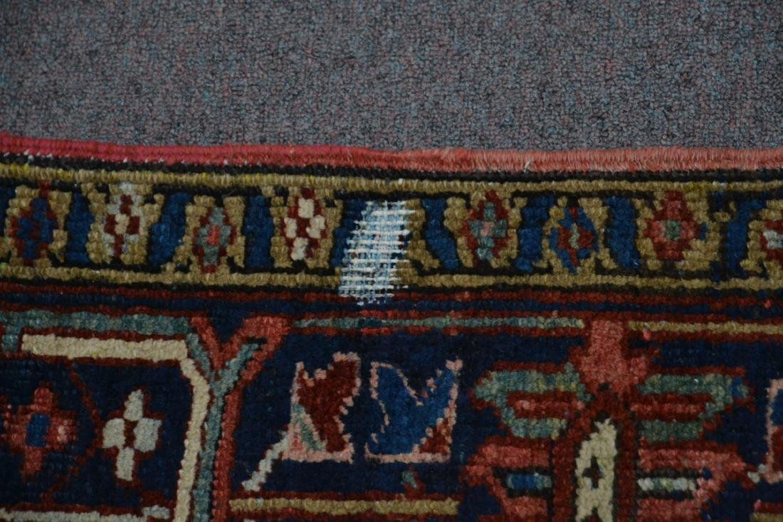 "ANTIQUE HERIZ RUG - 7' 3"" x 10' 3"" - 9"