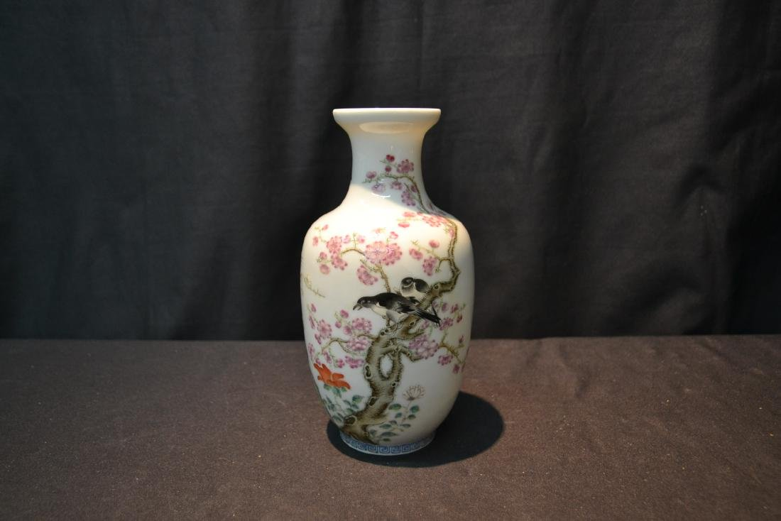 CHINESE PORCELAIN VASE WITH - 2