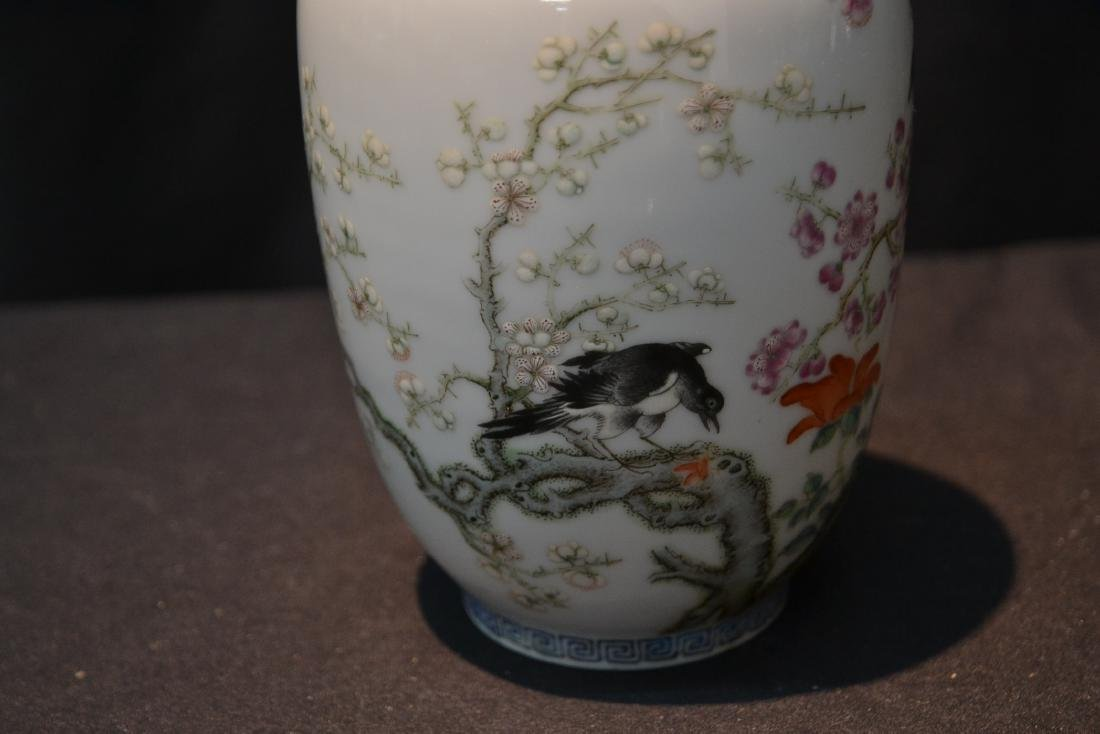 CHINESE PORCELAIN VASE WITH - 6
