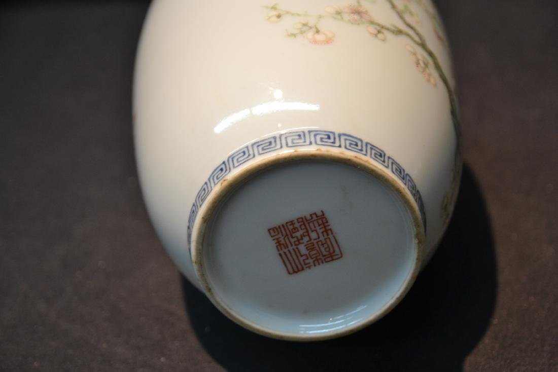 CHINESE PORCELAIN VASE WITH - 9