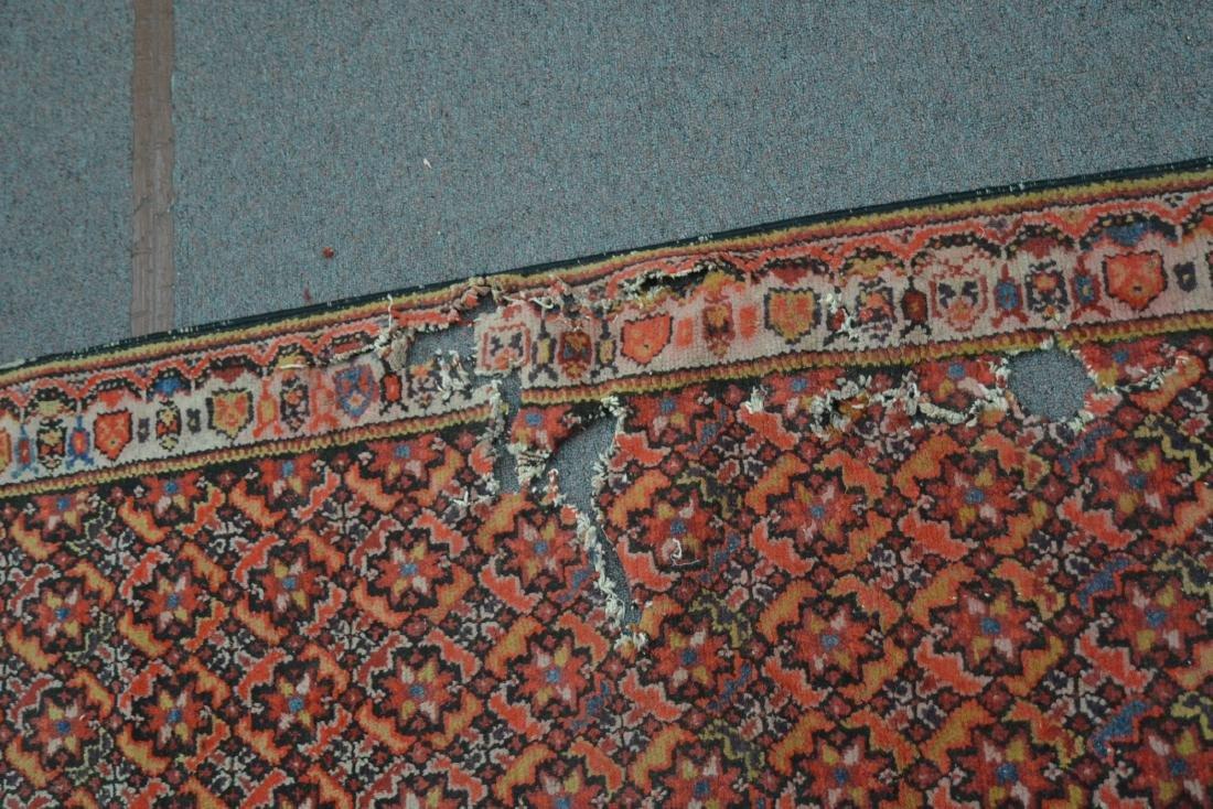 """3' x 10' 8"""" PERSIAN RUNNER (HAS LOSSES) - 4"""