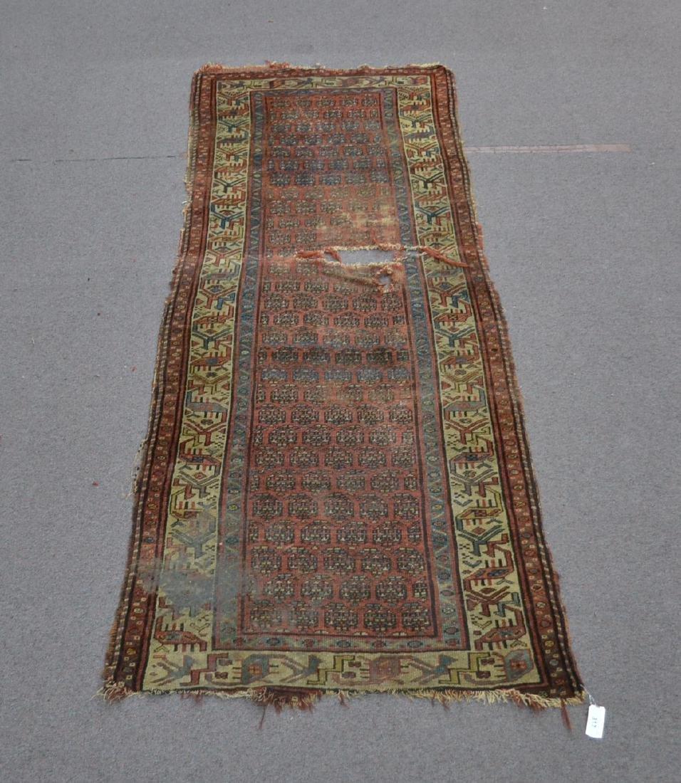 "PERSIAN RUNNER - 3' 9"" x 8' 11"""