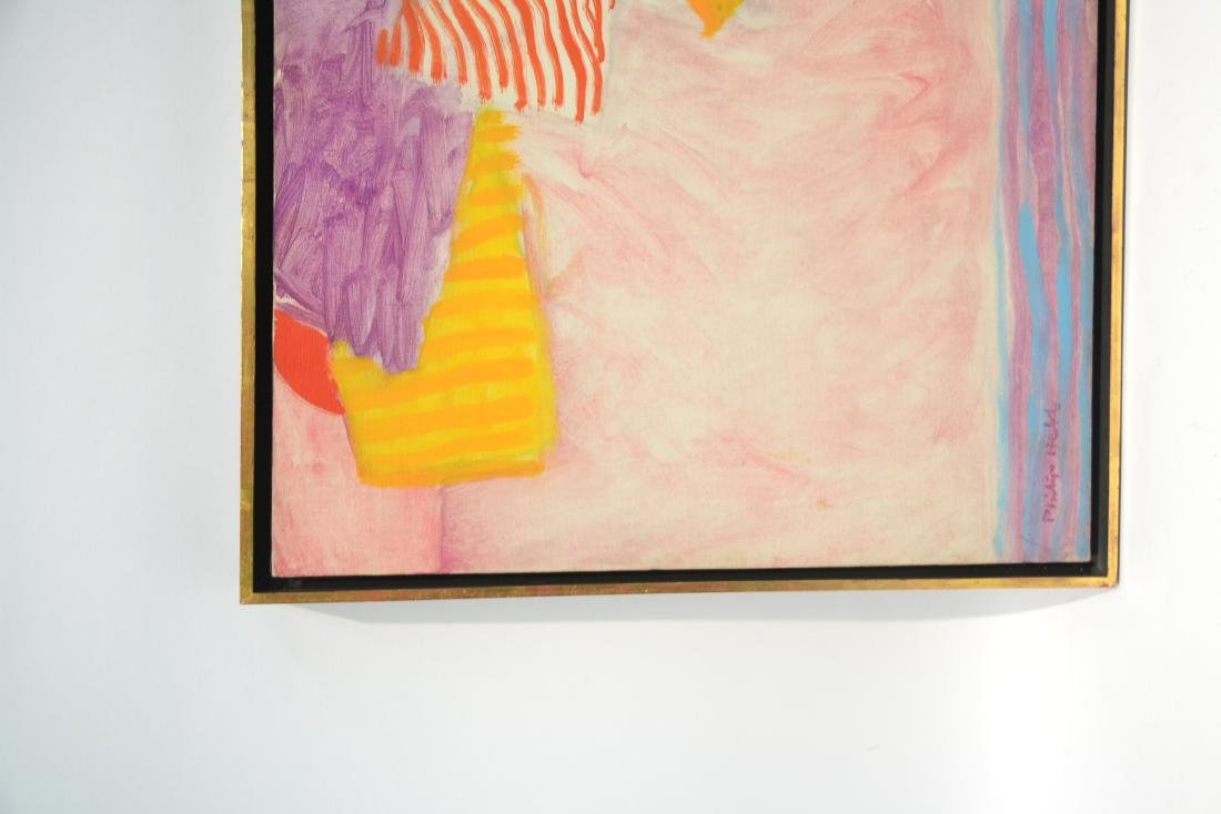 PHILIP HELD (NYC 1920-1999) OIL ON CANVAS OF BABY - 5