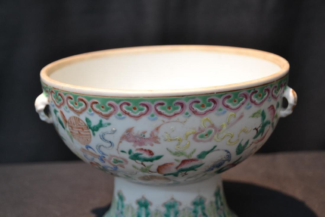 WHITE CHINESE PORCELAIN BOWL - 3