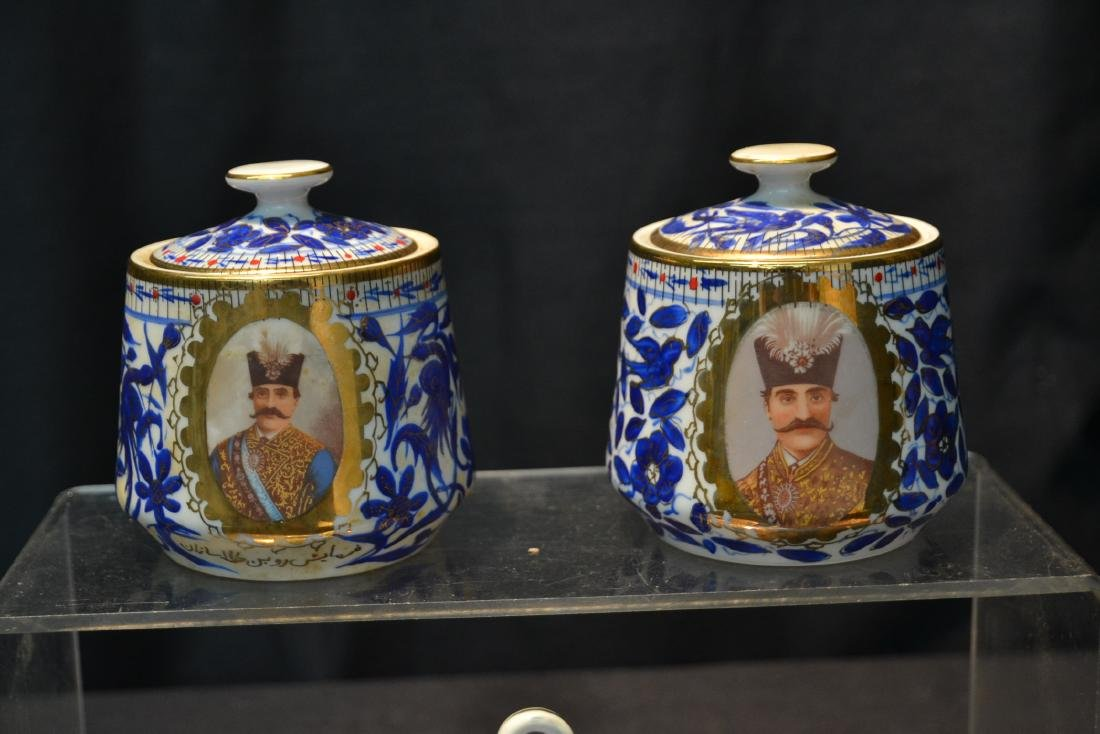 IMPERIAL JAPAN TEA SERVICE WITH RUSSIAN PORTRAITS - 2