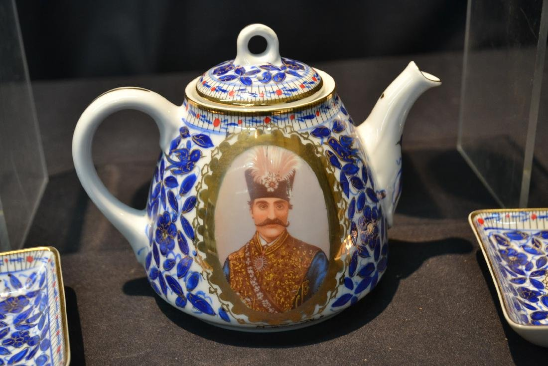 IMPERIAL JAPAN TEA SERVICE WITH RUSSIAN PORTRAITS - 3