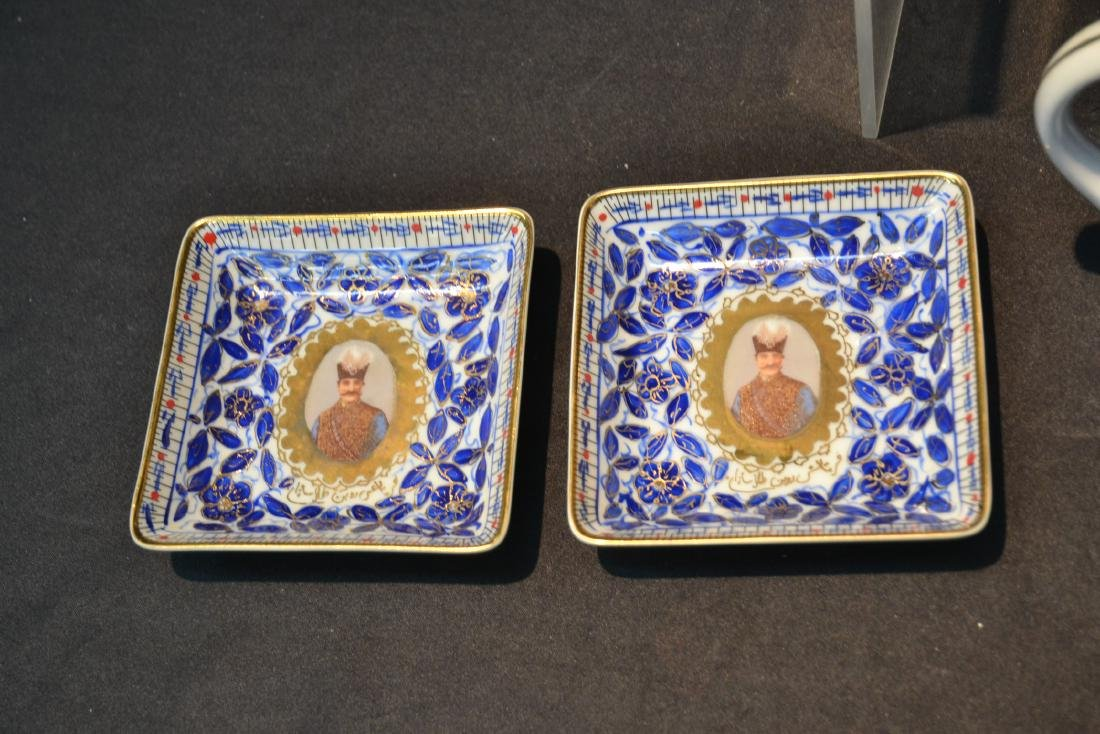IMPERIAL JAPAN TEA SERVICE WITH RUSSIAN PORTRAITS - 4