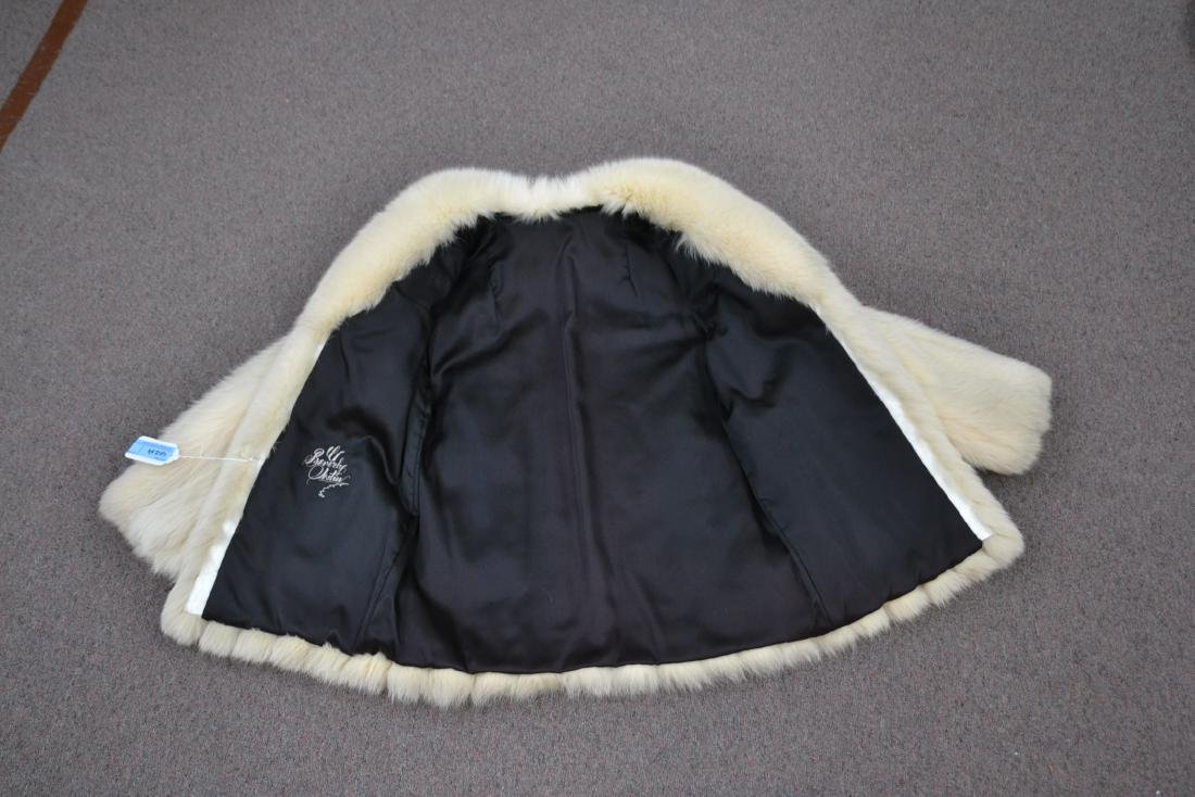 WHITE FOX JACKET - SIZE SMALL - 6