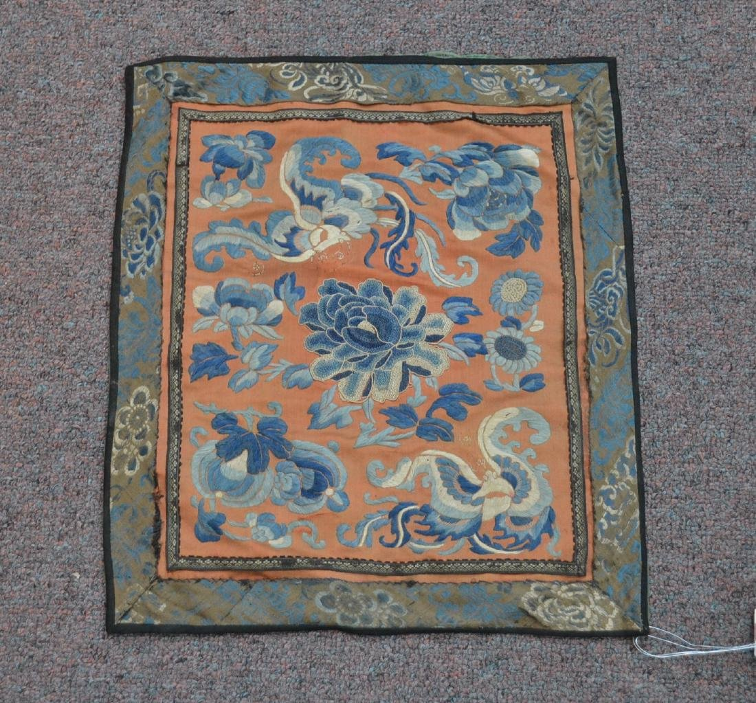 "ORIENTAL SILK BADGE - 12"" x 14"""