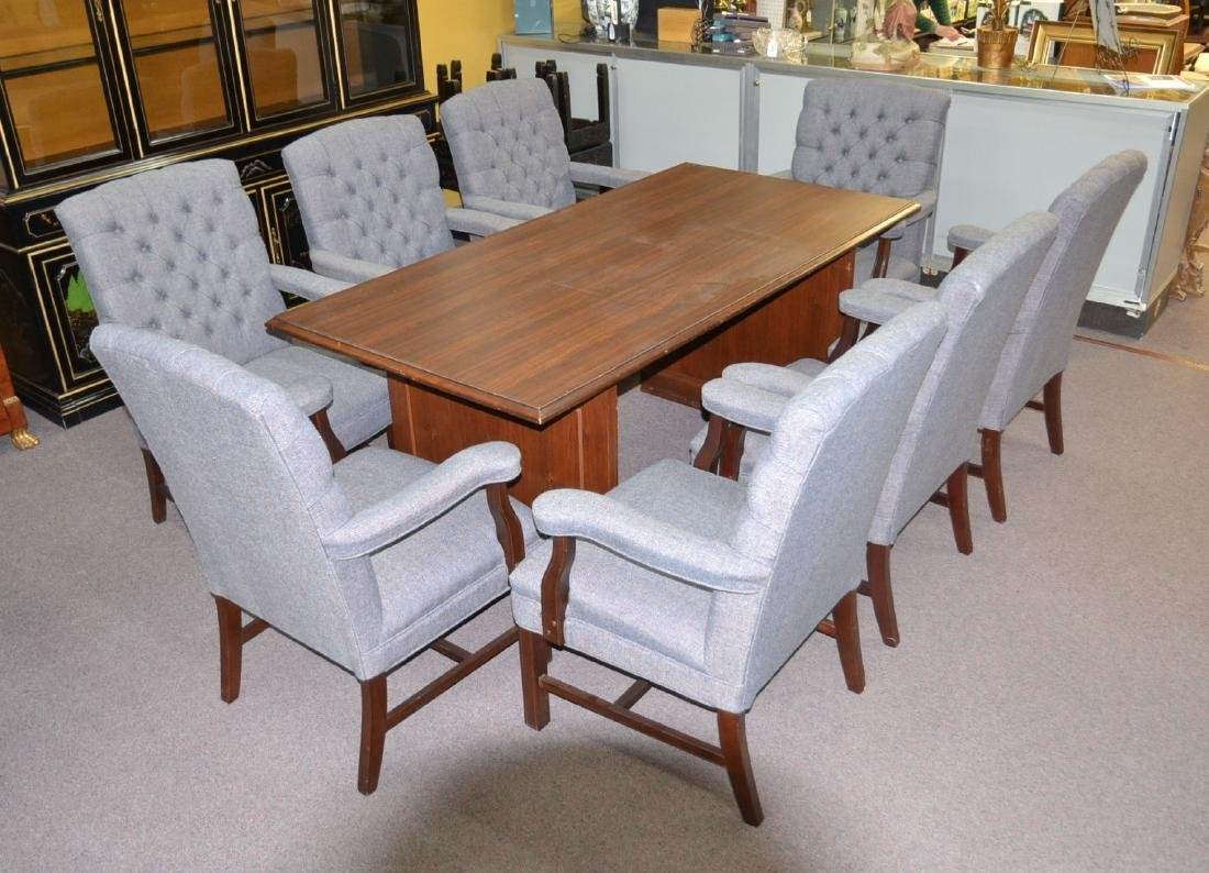 HILLCREST CONFERENCE TABLE WITH (8) HILLCREST