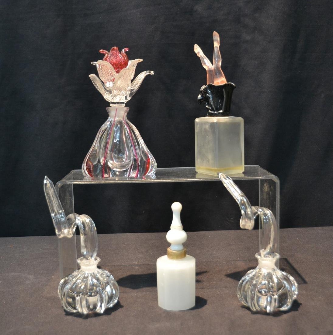 (5) ASSORTED PERFUME BOTTLES INCLUDING